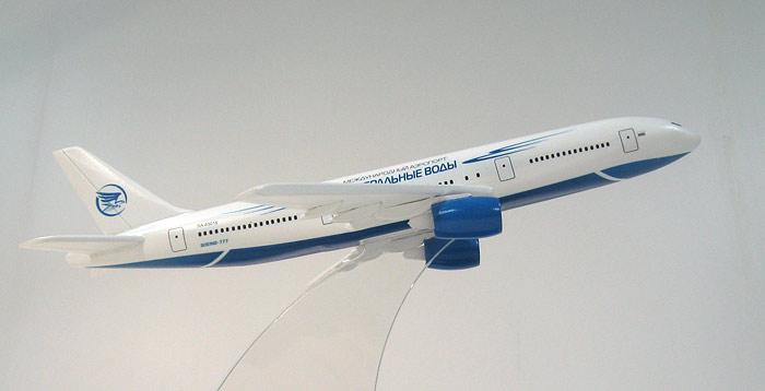 модели самолета Boeing-777